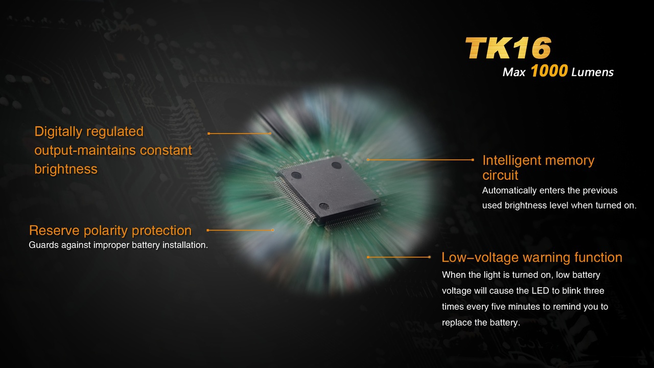 Fenix Tk16 5h Outdoors And Imports Battery Reverse Polarity Protection In Low Voltage Applications